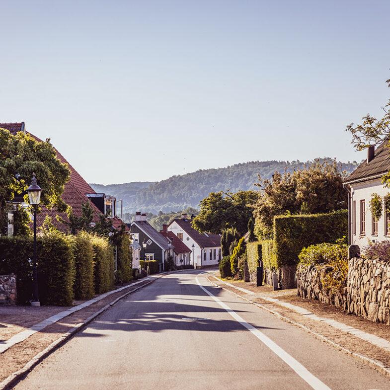 Aghardsgatan i Båstad