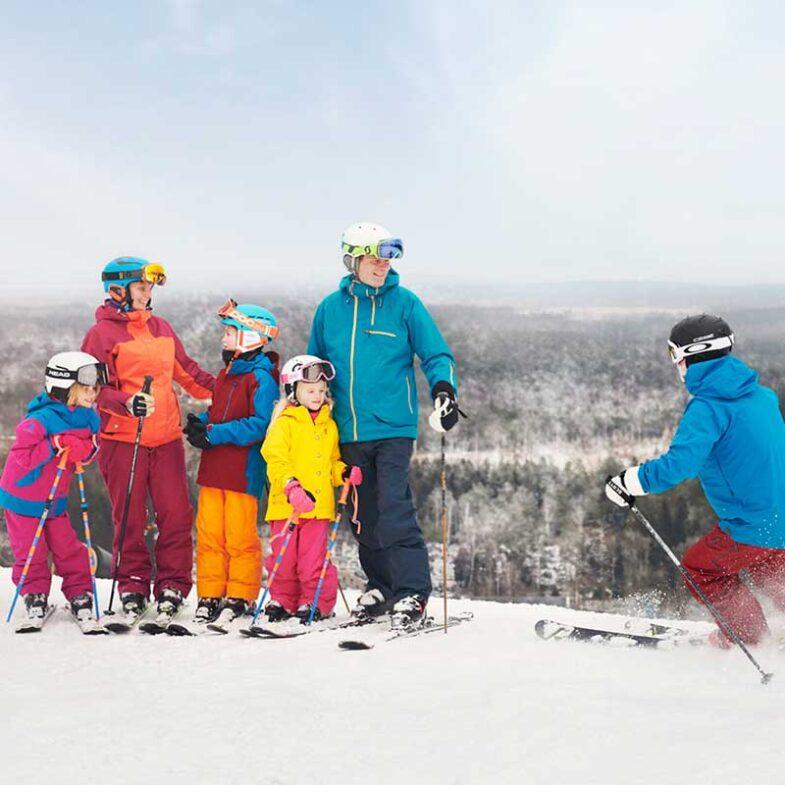 Åk skidor i Vallåsen