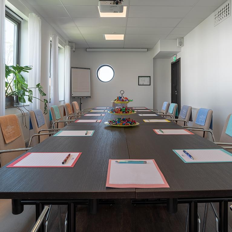 Konferenslokal Agnes på Hotel Riviera Strand i Båstad