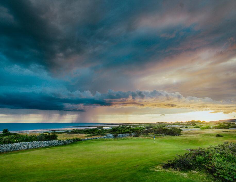 Torekovs GK. Golfbana vid havet