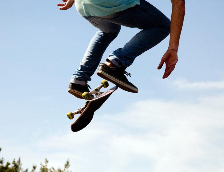 Skateparken i Båstad